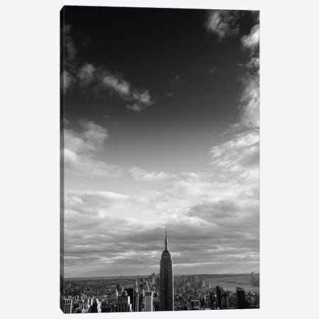 NYC Manhattan Sky Canvas Print #11652} by Nina Papiorek Canvas Artwork