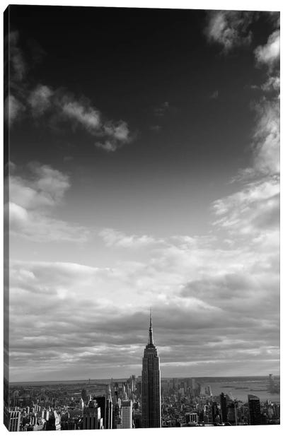 NYC Manhattan Sky Canvas Art Print