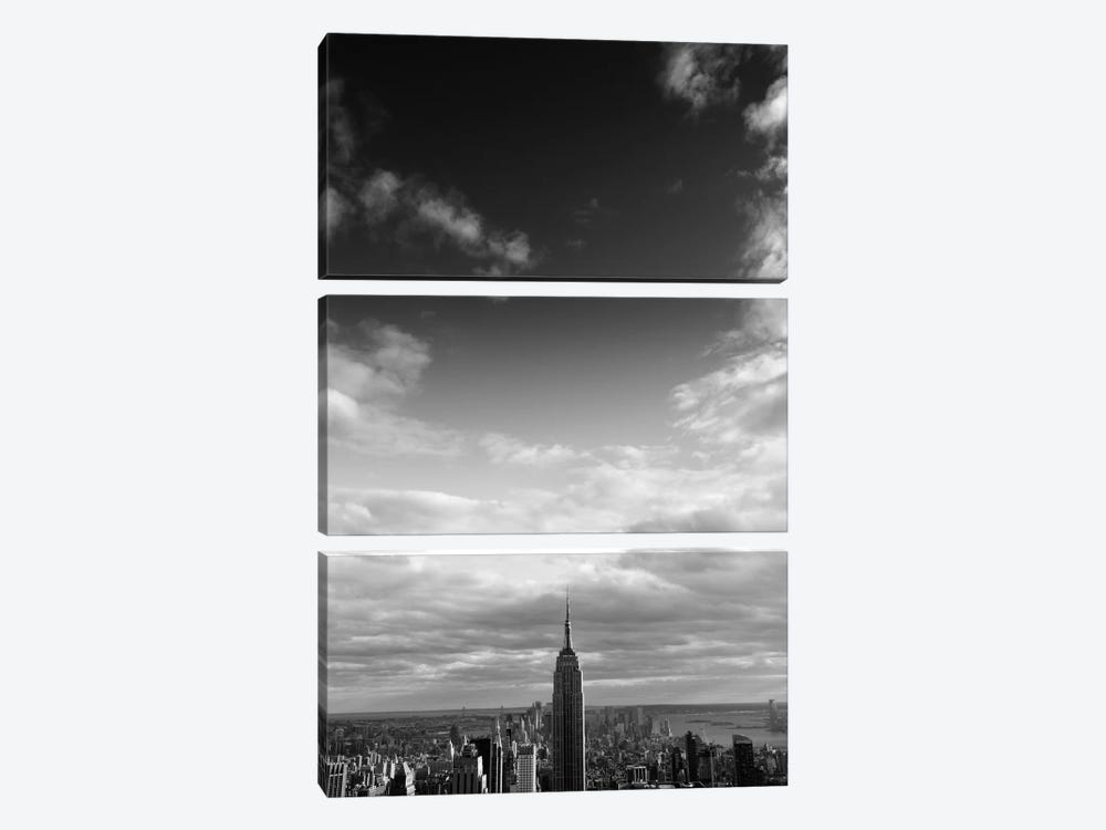 NYC Manhattan Sky by Nina Papiorek 3-piece Canvas Print