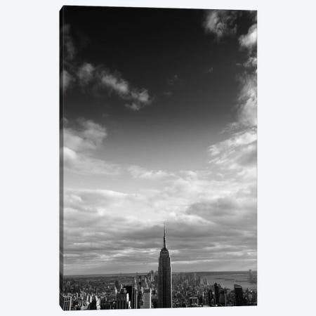 NYC Manhattan Sky Canvas Print #11652} by Nina Papiorek Canvas Artwork