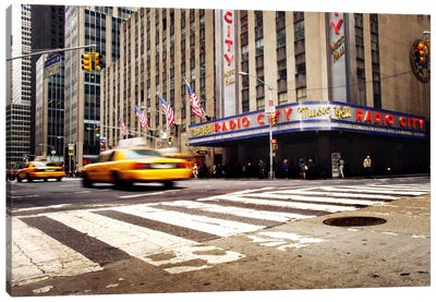 NYC Radio City Canvas Art Print