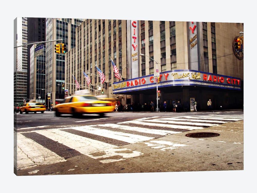 NYC Radio City by Nina Papiorek 1-piece Canvas Artwork