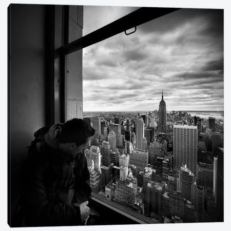 NYC Manhattan View Canvas Print #11654} by Nina Papiorek Canvas Art Print