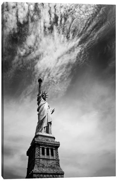 NYC Miss Liberty Canvas Art Print