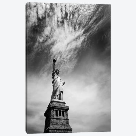 NYC Miss Liberty Canvas Print #11655} by Nina Papiorek Art Print