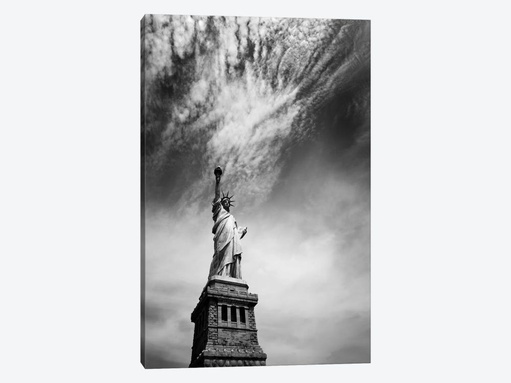 NYC Miss Liberty by Nina Papiorek 1-piece Canvas Artwork