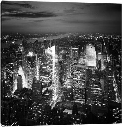 NYC Nights Canvas Art Print