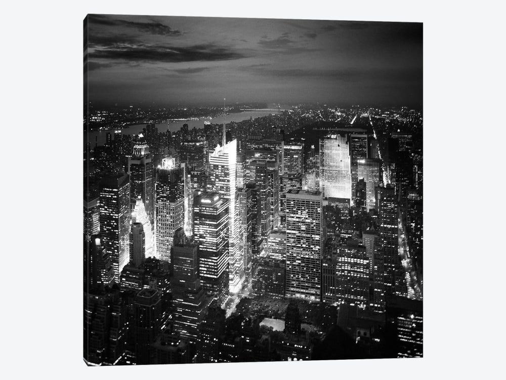 NYC Nights by Nina Papiorek 1-piece Canvas Art Print