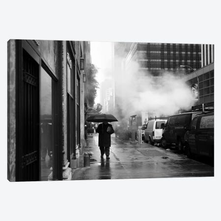 NYC Rain Canvas Print #11657} by Nina Papiorek Canvas Print