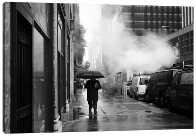 NYC Rain Canvas Art Print