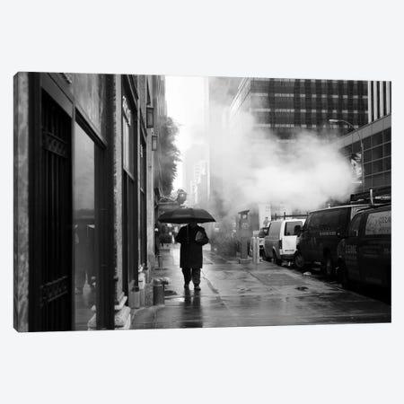 NYC Rain Canvas Print #11657} by Nina Papiorek Canvas Print