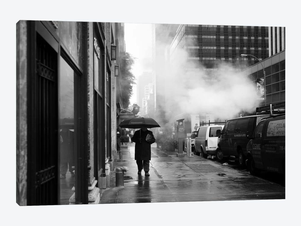 NYC Rain by Nina Papiorek 1-piece Canvas Art