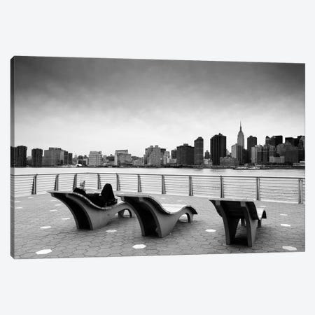 NYC Relax Canvas Print #11659} by Nina Papiorek Canvas Wall Art
