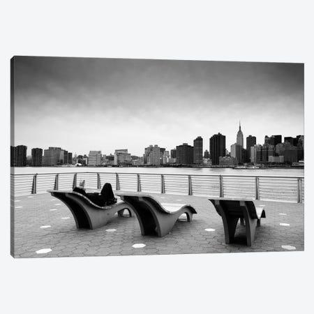 NYC Relax Canvas Print #11659} by Nina Papiorek Canvas Wall Art
