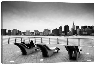 NYC Relax Canvas Art Print