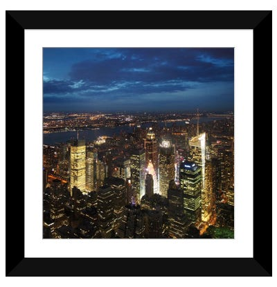 NYC Times Square Framed Art Print