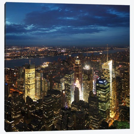 NYC Times Square Canvas Print #11661} by Nina Papiorek Canvas Print