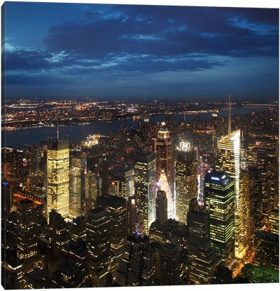 NYC Times Square Canvas Art Print