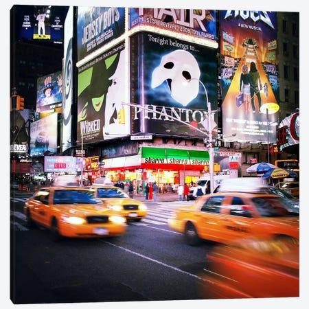 NYC Taxi Taxi Canvas Print #11662} by Nina Papiorek Canvas Art Print