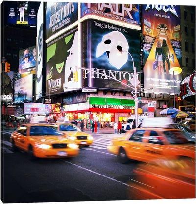 NYC Taxi Taxi Canvas Art Print
