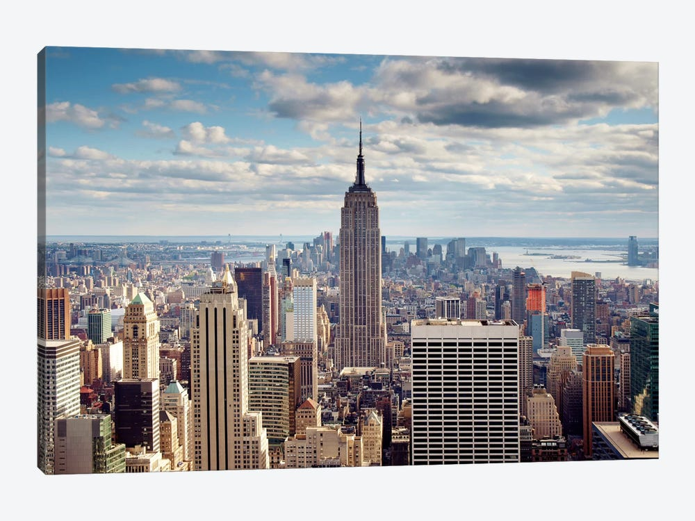 NYC The Empire by Nina Papiorek 1-piece Art Print