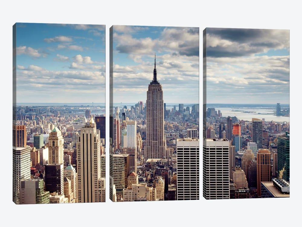 NYC The Empire by Nina Papiorek 3-piece Canvas Print