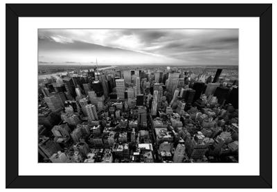NYC Uptown Framed Art Print