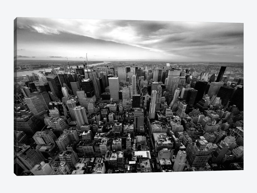 NYC Uptown by Nina Papiorek 1-piece Canvas Artwork