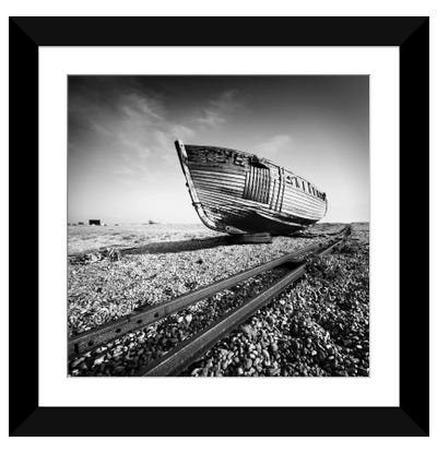 Ship Wreck I Framed Art Print