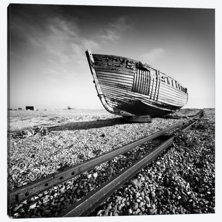 Ship Wreck I Canvas Print #11665} by Nina Papiorek Canvas Artwork