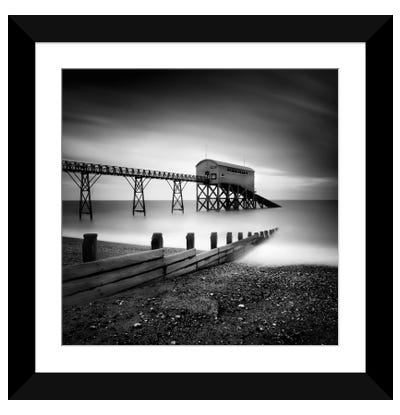 Selsey Lifeboat Station II Framed Art Print