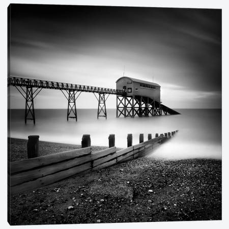 Selsey Lifeboat Station II Canvas Print #11667} by Nina Papiorek Canvas Art