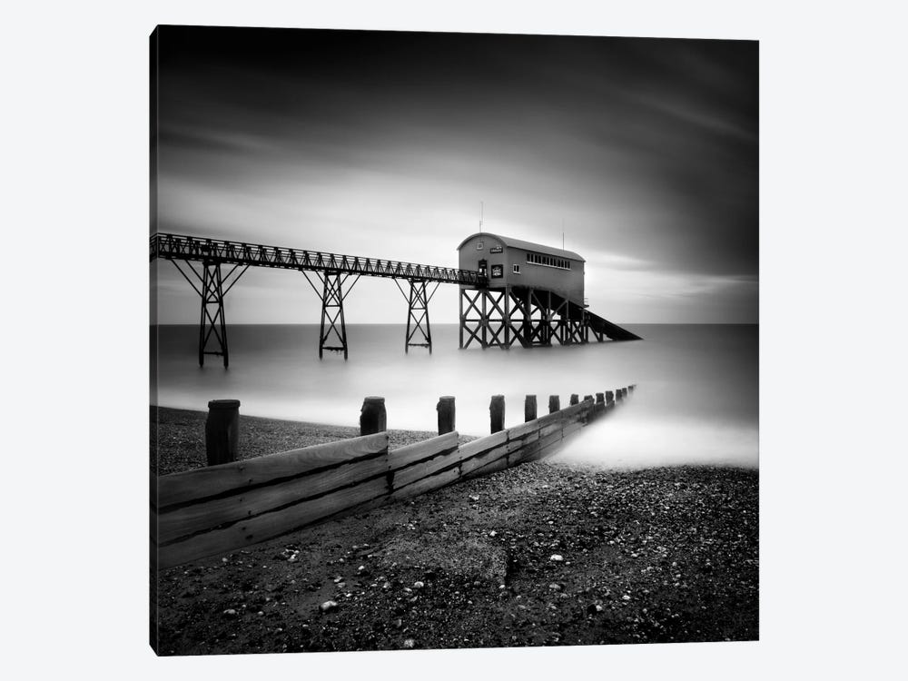 Selsey Lifeboat Station II by Nina Papiorek 1-piece Canvas Art Print