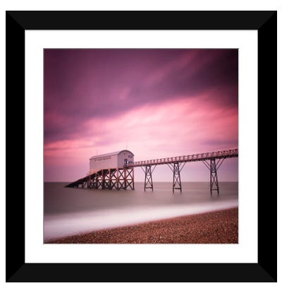 Selsey Lifeboat Station Framed Art Print