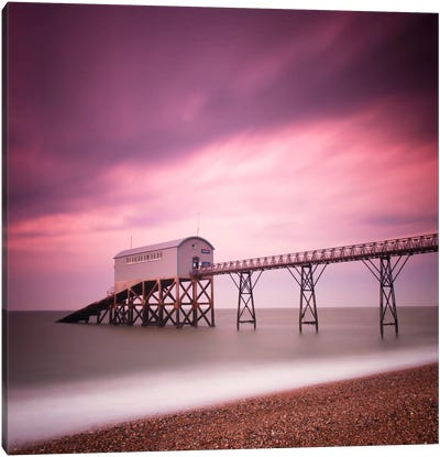 Selsey Lifeboat Station Canvas Art Print