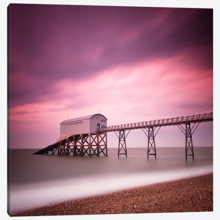 Selsey Lifeboat Station Canvas Print #11668} by Nina Papiorek Canvas Print