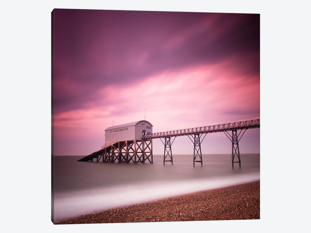 Selsey Lifeboat Station by Nina Papiorek 1-piece Canvas Wall Art
