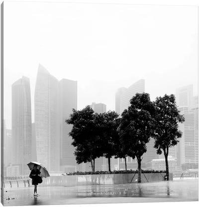Singapore Umbrella Canvas Art Print