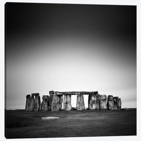 Stonehenge Canvas Print #11672} by Nina Papiorek Canvas Art