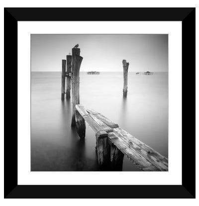 Venice Path Framed Art Print