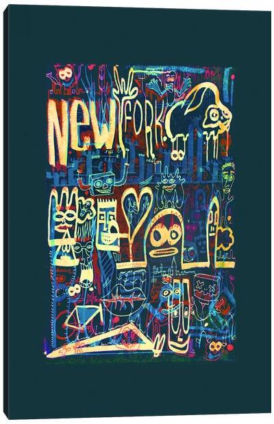 New Fork Canvas Art Print