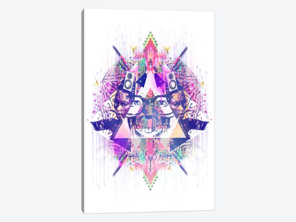 Trabstract 1-piece Canvas Print
