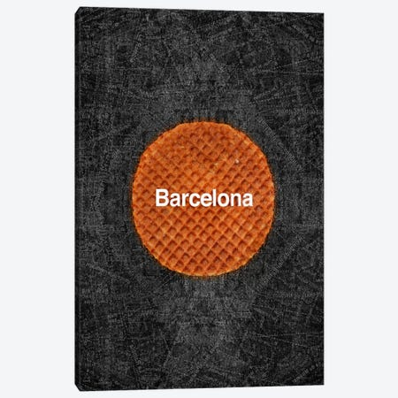Barcelona 3-Piece Canvas #11685} by Ruud van Eijk Canvas Wall Art