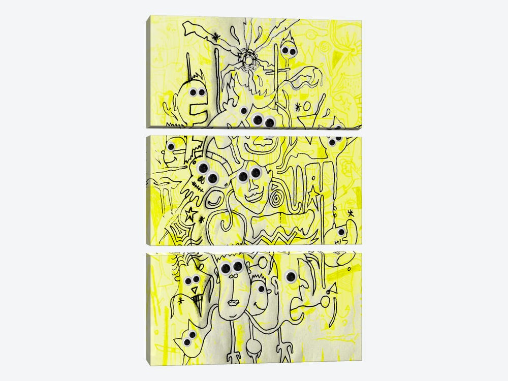 Daytime by Ruud van Eijk 3-piece Art Print