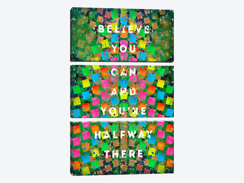Halfway There by Ruud van Eijk 3-piece Canvas Art