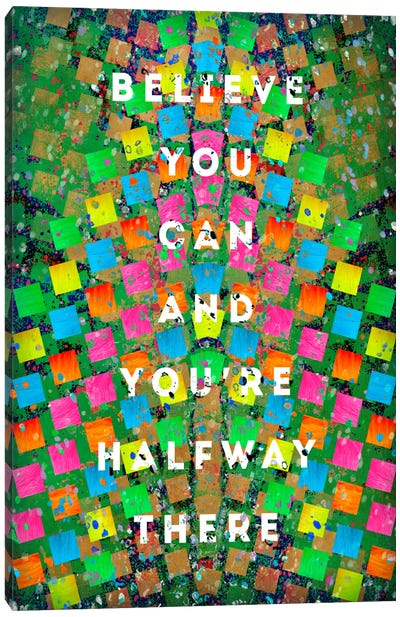 Halfway There Canvas Art Print