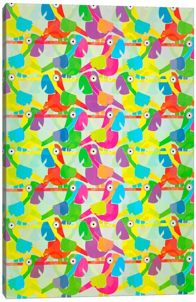 Parrots Canvas Art Print