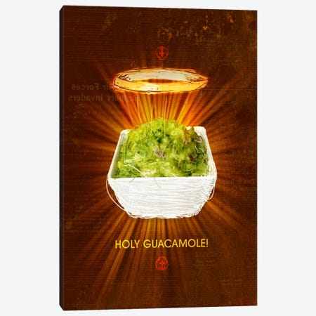 Holy Guacamole Canvas Print #11690} by Ruud van Eijk Canvas Art
