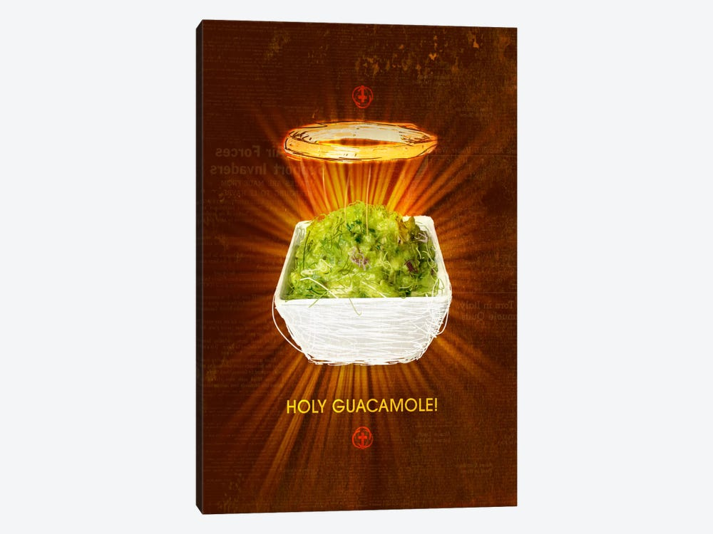 Holy Guacamole by Ruud van Eijk 1-piece Canvas Print