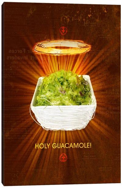 Holy Guacamole Canvas Art Print